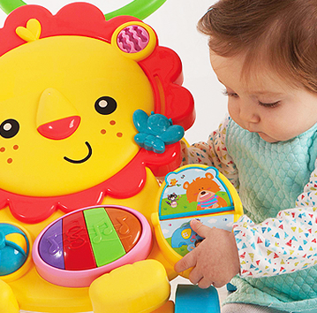 Special toys and products for babies